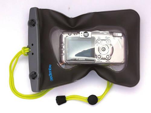 Водонепроницаемый защитный чехол для фотоаппаратов Aquapac Small Camera Case 2015 707398114189 прозрачный/черн