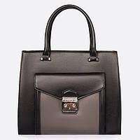 Модная женская сумка, черная