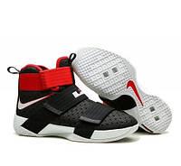 Кроссовки Nike LeBron Zoom Soldier 10 Black Red