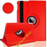 Кожаный чехол-книжка360Градусов Ipad 5 Air Красный