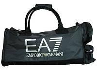 Брендовая спортивная мужсая сумка 12 л. ARMANI (275579-6P298) MEN'S BAG'16 8055352924988 черный