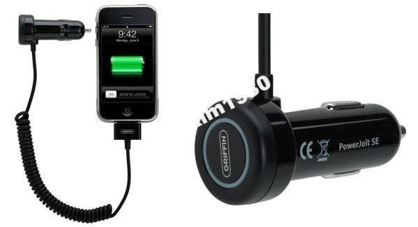 Автомобильная зарядка для iphone(Griffin) оригинал