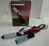 Стайлер (фен-плойка) для волос из Европы Tiross TS-433  с гарантией