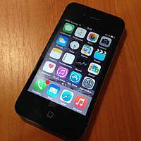 Iphone 4S  (неверлок)черный