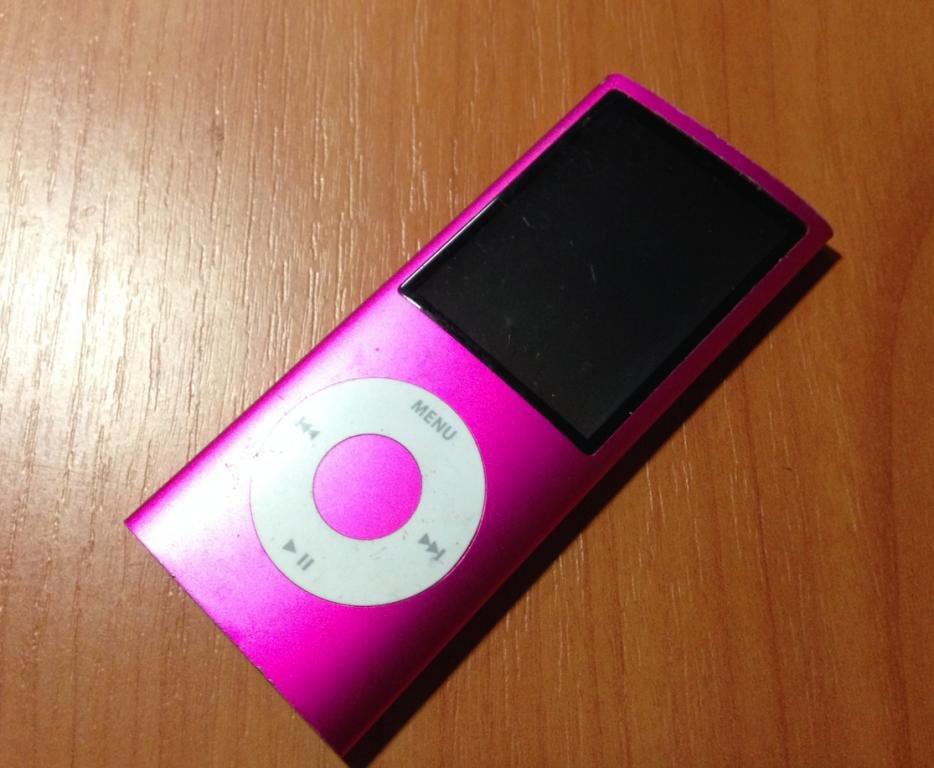 Ipod nano 4Gen 8GB (оригинал) розовый