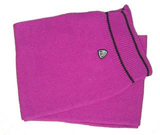 Яркий итальянский женский шарф 2 м. ARMANI 285185-2A397 CICLAMINO 8033995566840 фуксия