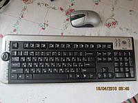 Безпроводные клавиатура + мыша