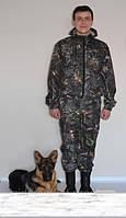 Камуфляжный костюм темный дубок с короткой курткой