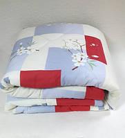 Одеяло стёганое бязь полуторное трёхслойное