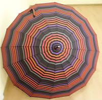 Женский зонт трость на 16 спиц Star Rain