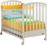 Детская кроватка Pali Ciak белая (OO16OO) на колесиках