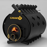 """Печь """"Canada"""" с жаростойким стеклом и защитным кожухом """"04"""" 35 кВт"""