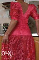 Шикарное вечернее платья 10 р (недостаток)!