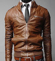 Стильная мужская куртка из кожзама PM6457-76