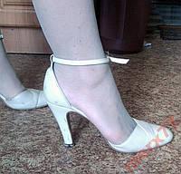 Итальянские модельные туфли 38-39 р (Кожа)