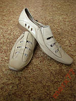 Качественные Кожаные туфли 46 размер
