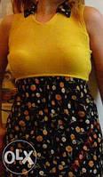 Летнее платье (можно для беременной)