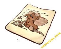 Одеяло детское из овечьей шерсти, двуслойное