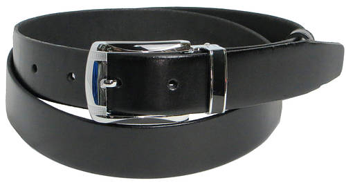 Ремень мужской под брюки Skipper 5494-2 чёрный ДхШ: 121х3,5 см.