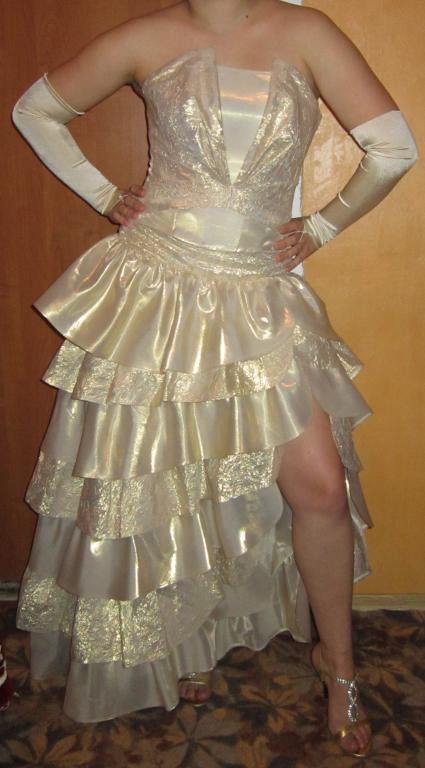 Супер Выпускное вечернее платье или свадебное