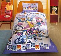 Хлопковое детское постельное бельё WITCH TRENDY