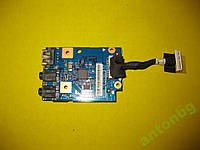 Картридер + Аудио USB Lenovo Z570 Z575