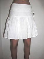 Белая летняя юбка Сapsize 46р