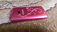 Задняя крышка Samsung S6102 LaFleur розовая, новая