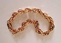 Золотой браслет массивный, золото 585 проба. 14 г