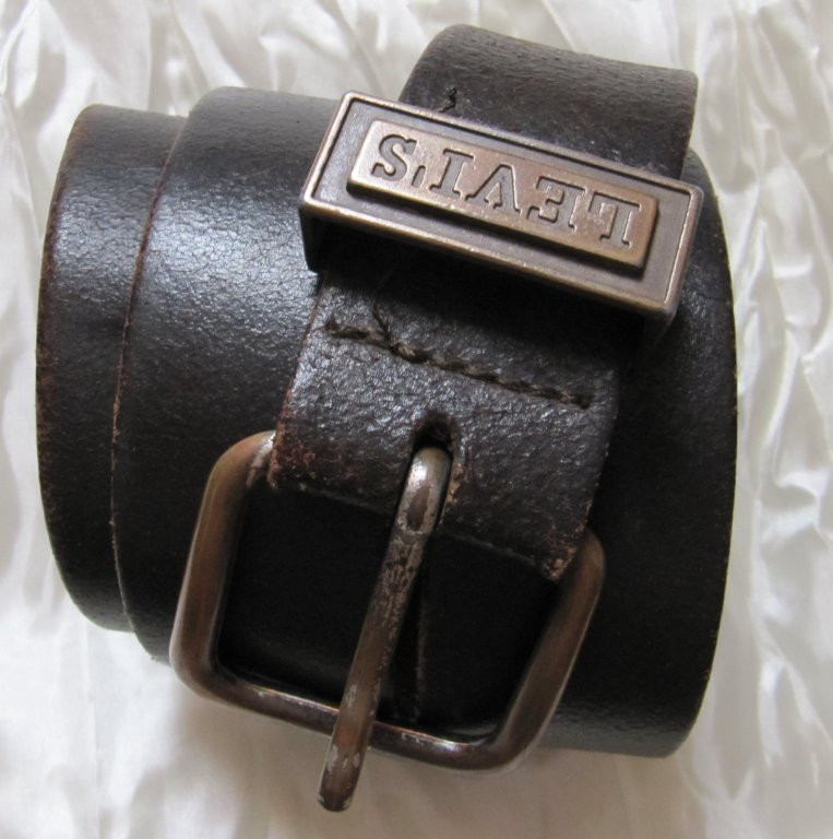 Ремень кожа LEVIS Made  in Italy