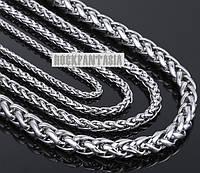 3 мм Мужская женская унисекс цепочка плетёная медицинская сталь, ланцюжок із сталі