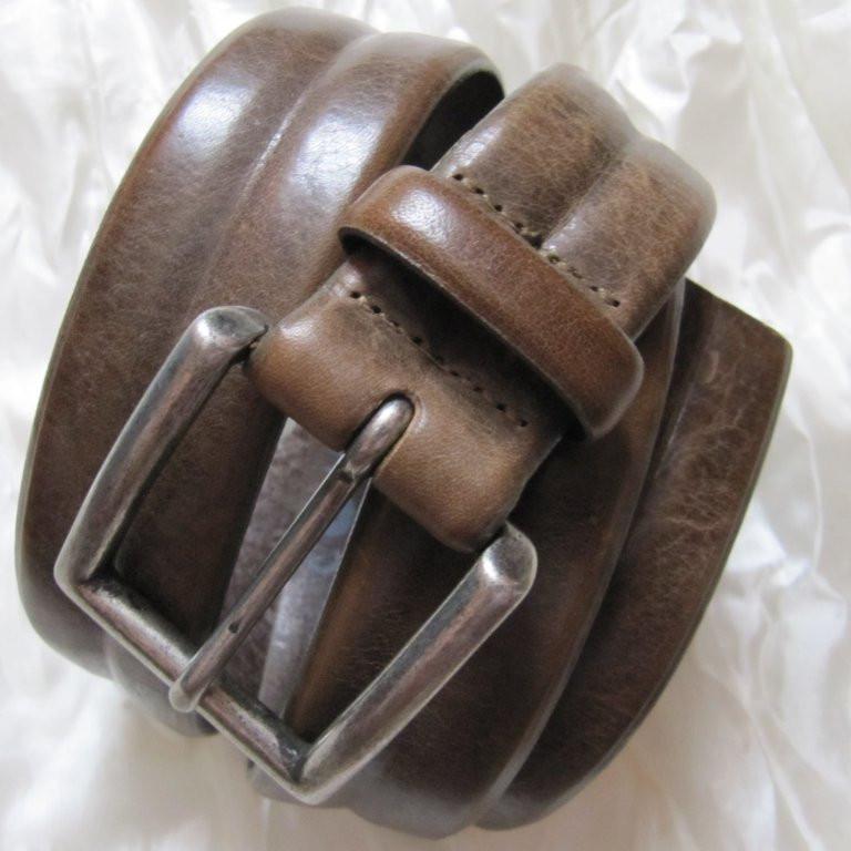 Ремень кожа Companys Made in Italy