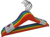 Плечики цветные для детской и подростковой одежды 36 (см)