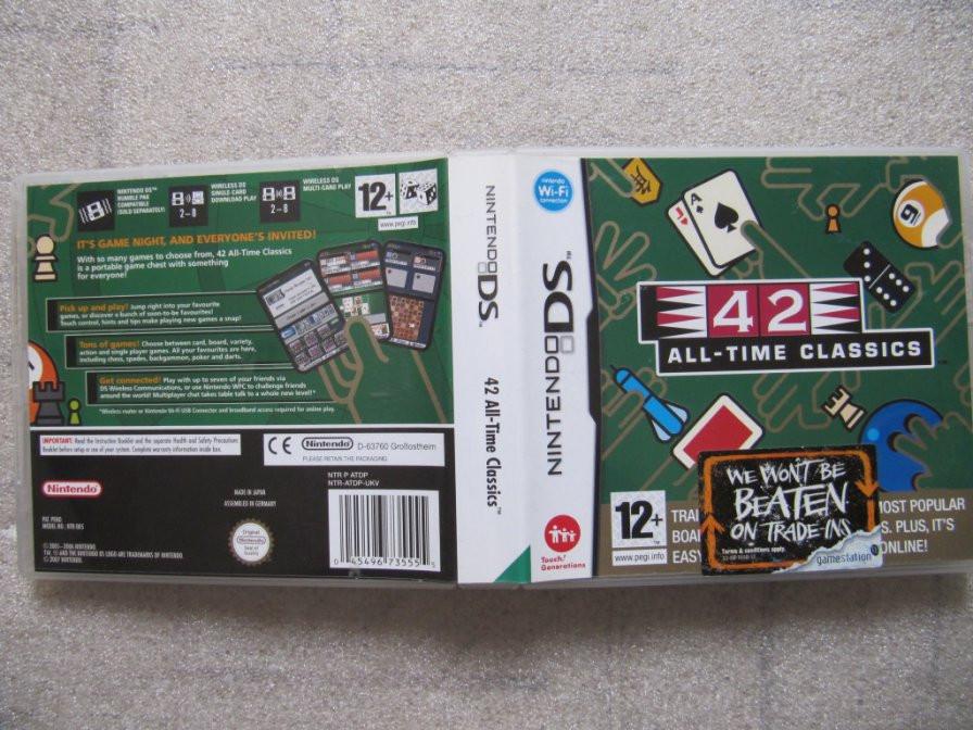 Nintendo DS 42 All  time classics
