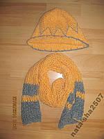 Шляпка та шарф 5-7р.