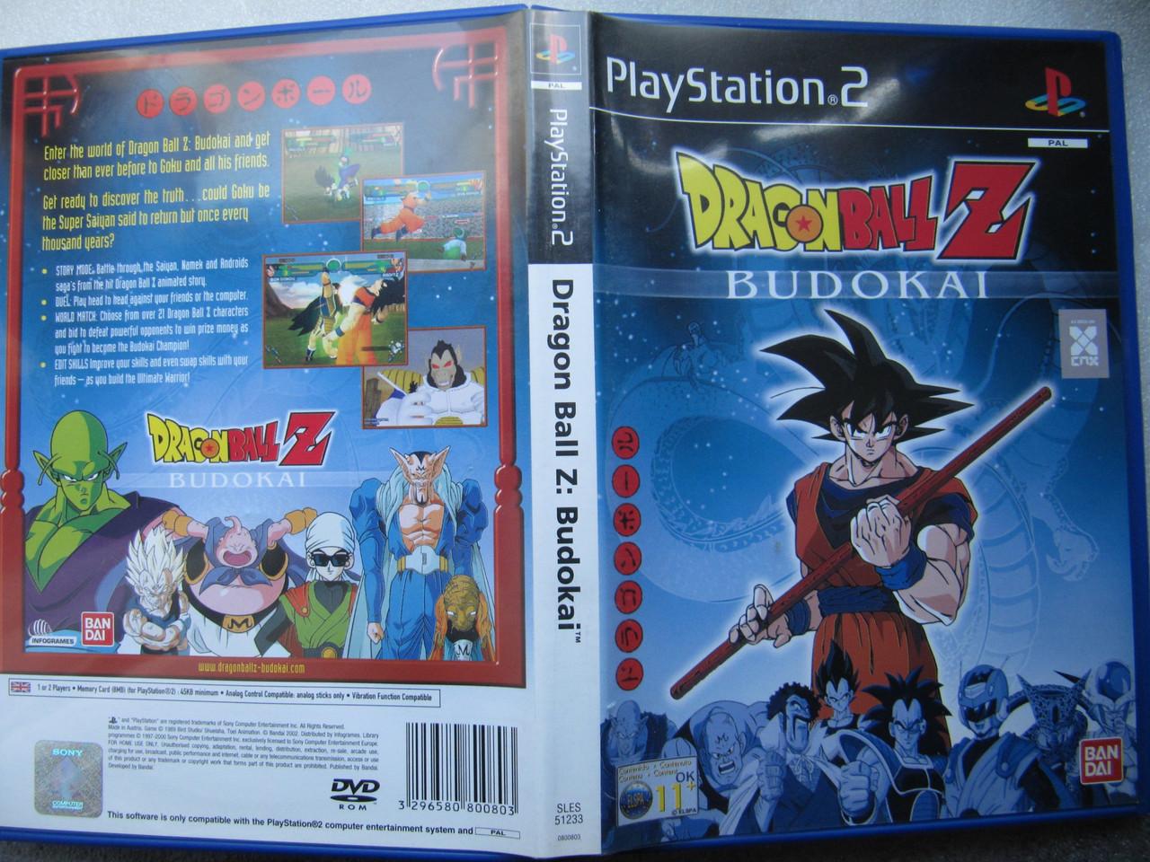 Playstation 2  Dragon Ball Z Budokai