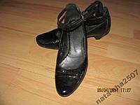 Туфли  кожа лак 39р.