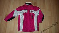 Куртка рожева 116р.