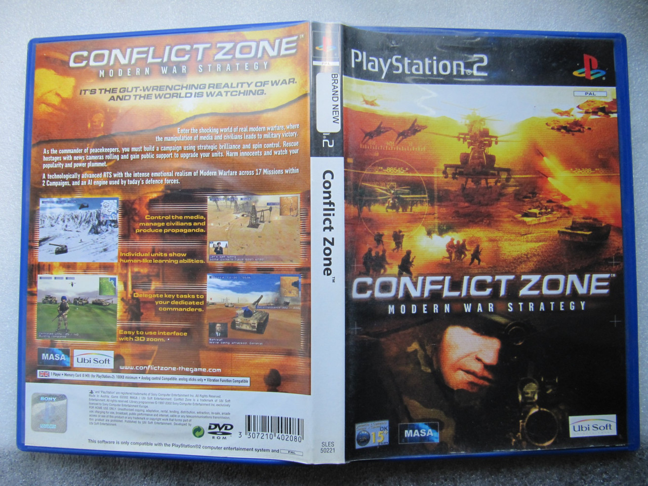 Playstation 2  Conflict Zone