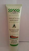 Лечебный крем для ног и заживления трещин с маслами авокадо и чайного дерева Care and beauty line
