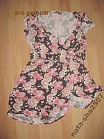 Блуза для беременных в цветы