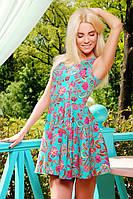 Приталене плаття-сарафан креп-шовк