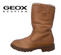 Сапоги кожаные демисезонные GEOX Respira  р.29 18с