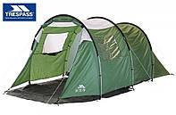 Палатка 4 месная кемпинговая TRESPASS  из Англии
