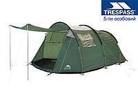 Палатка 5 месная кемпинговая TRESPASS  из Англии