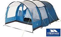 Палатка 4 месная кемпинговая TRESPASS 6000 мм