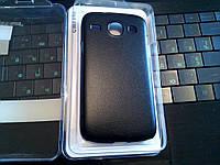 Чехол SAMSUNG i8260 BLACK +пленка