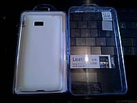 Чехол HTC 606W WHITE +пленка