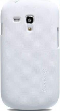 Чехол NILLKIN SAMSUNG I8190 S III WHITE +пленка