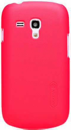 Чехол NILLKIN SAMSUNG I8190 S III MINI RED +пленка